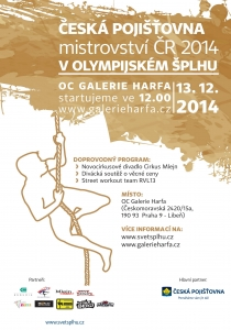 Česká pojišťovna MČR 2014 - plakát