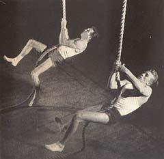 Šplh na laně v USA