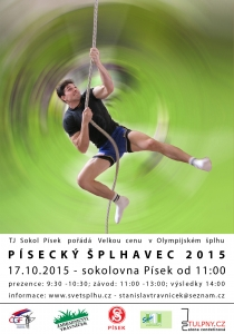 VC Písecký šplhavec 2015 - plakát
